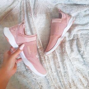 PUMA DARE softfoam optimal comfort blush sneakers